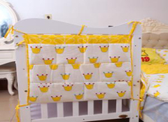 婴儿床挂袋的制作方法 一起来学习吧!