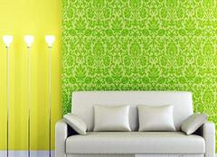 客厅墙纸布置注意事项 让你的墙纸牢固又美观