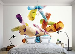 卧室可爱墙纸样式有哪些 为孩子创造一个梦想空间