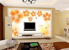 客厅电视背景墙墙纸选购技巧 精美家装新宠