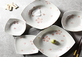 女神想要的樱花餐具 送她一场浪漫的樱花雨