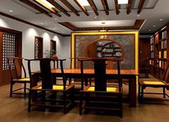 中式书房布置 还原典雅生活