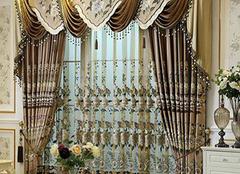 水晶窗帘搭配技巧 让家居生活更别致