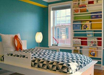 儿童卧室书房怎么布置才合理? 小编来给你支招