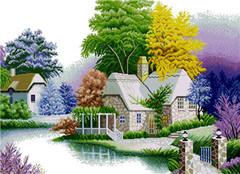 彩虹十字绣论坛 一个专业分享十字绣知识的网站