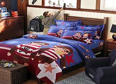 儿童床上用品种类及布料 给你一个好的睡眠