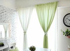 窗纱窗帘的五大作用大揭秘
