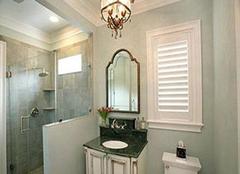 防水浴室瓷砖保养事项以及施工方法