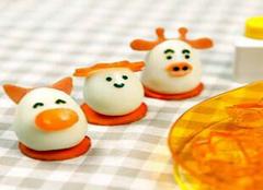 趣味鸡蛋造型工具  打造食色俱全的好鸡蛋