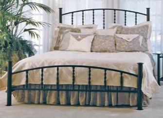 三款浪漫铁艺床 装饰家居之美