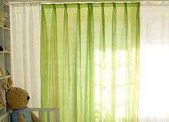棉布窗帘优缺点及清洗小常识