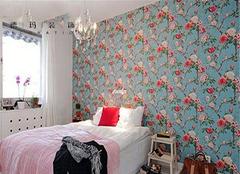不同风格碎花壁纸价格 成为家装一种潮流