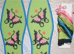 十字绣鞋垫绣法有哪些 让你秀出自己中意的鞋垫