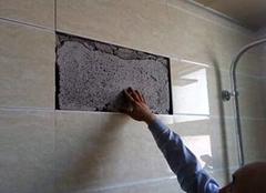 瓷砖掉了用什么粘 预防处理瓷砖掉的方法