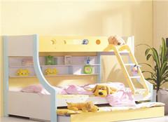 双层儿童床品牌 深受孩子们的喜欢