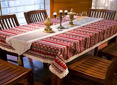 极具民族风情的桌布 桌布也能风情万种