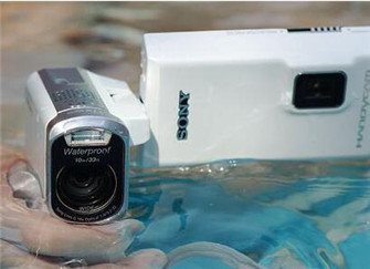 索尼gwp88e摄像机 能自拍的摄像机