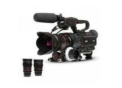 JVC ls300摄像机 镜头不满意随便换