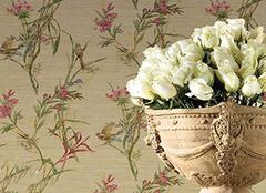 不同颜色的碎花壁纸 让这份美丽更持久