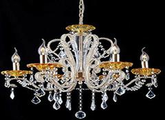 水晶吊灯十大品牌 独特设计让你更喜欢