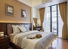 卧室窗帘巧选择 把日光筛漏出五色霞彩来