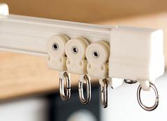 双轨窗帘杆选的好 美观实用双重保障