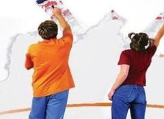 乳胶漆施工的不合格现象 你家的墙面中了几个