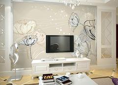 巧妙运用电视背景墙墙纸 拥有别样感观