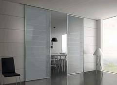 玻璃推拉门选购小诀窍 让家居更时尚