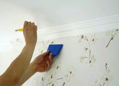 贴墙纸步骤全攻略 又学到了一门技术