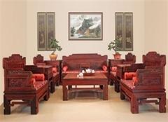 红木家具损坏了该如何维修?