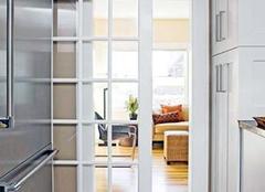 折叠门优势解析 让家居更靓丽