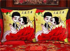 十字绣枕头介绍 在家也能自己绣