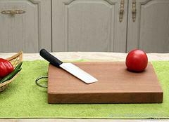 各材质砧板选购小诀窍 让烹饪更健康