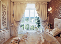 卧室窗帘选购技巧 给家居增添色彩