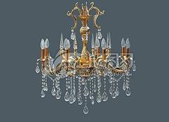 水晶吊灯选购方法 让家居更加闪亮
