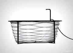 创意折叠收缩浴缸 随时随地享受泡澡时光