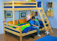 芙莱莎儿童床选购要点 孩子成长的良伴