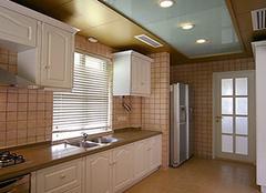 厨房吊顶用瓷砖 施工好才是硬道理