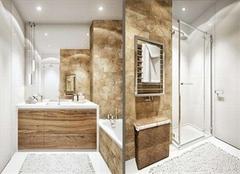卫生间干湿分离就靠挡水条,这么安装最好