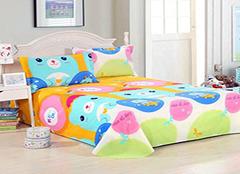 儿童床单选购方法 品牌挑选很重要