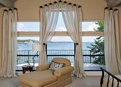 飘窗窗帘如何安装好看 让窗户更漂亮