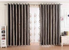 丝绸窗帘如何搭配好看 营造自然风格