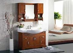 实木浴室柜保养技巧 8招搞定实木浴室柜保养