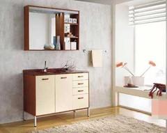 超强收纳之浴室柜 小户型就要分寸必争
