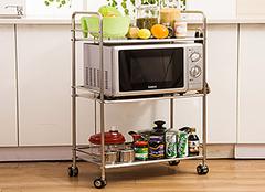 厨房置物架材质解析 让厨房更得心应手