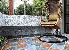 阳台瓷砖休闲园 舒适生活好选择