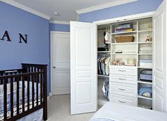 儿童衣柜定制标准 给孩子一个快乐童年