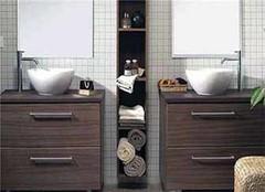 百变个性浴室 实木定制浴室柜优点