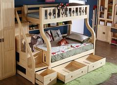 双层儿童床选购注意要点 把安全挂心头